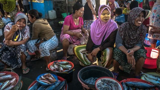 Tanjung Luar,  Lombok,  Indonezja