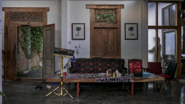 ARTMERDEKA Studio, Jogja, Indonezja, 2016